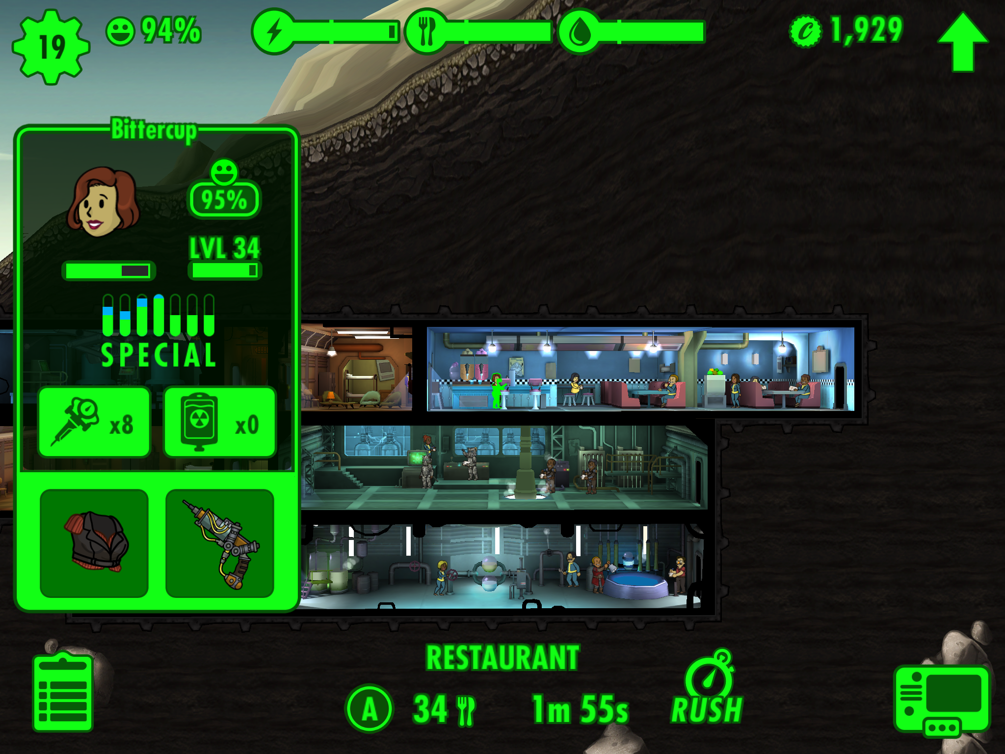 how to send dwellers to wasteland fallout shelter