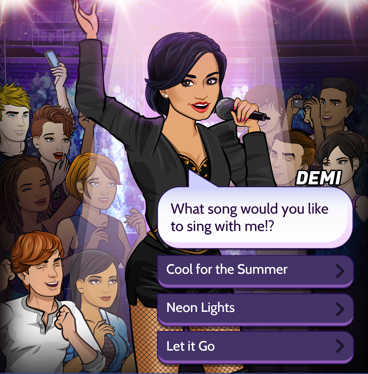 Demi Lovato: Path To Fame Goes Live On Episode App