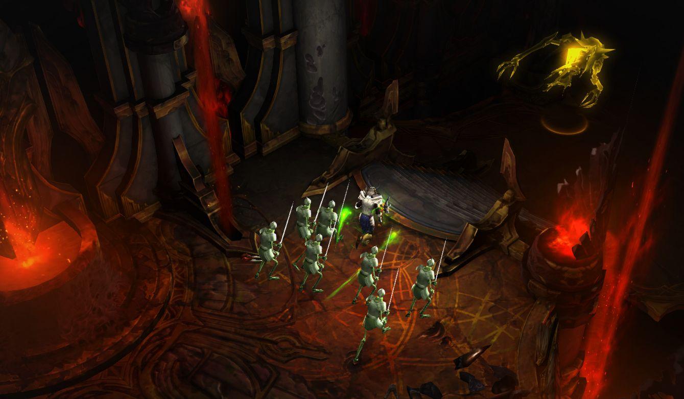 Diablo  Melee Necromancer Build