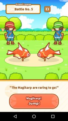magikarp jump mimikyu how to level