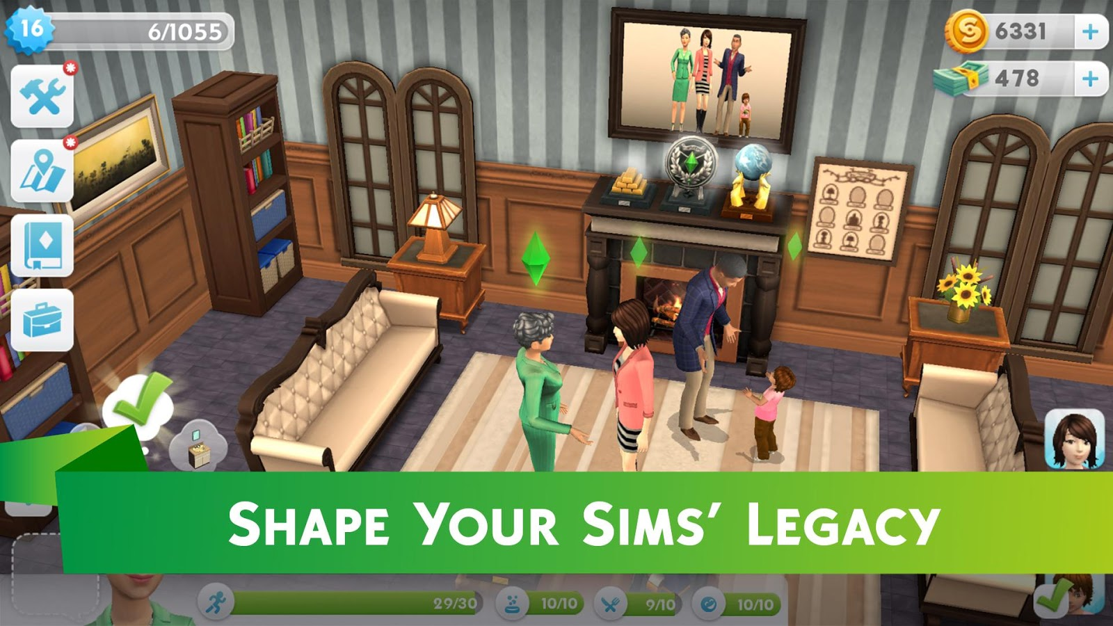 how to get more money on sims 3 mobile