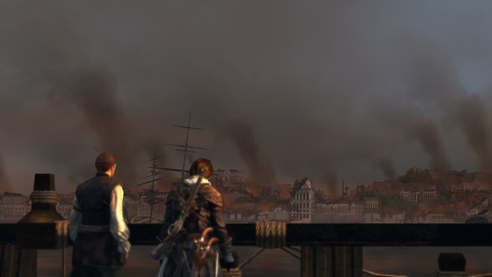 Assassin S Creed Rogue Remastered Review Big Beautiful Empty World