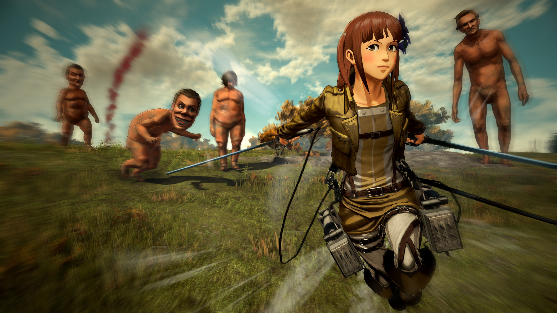 Attack on Titan 2 review: More creepy, naked, smiling giants