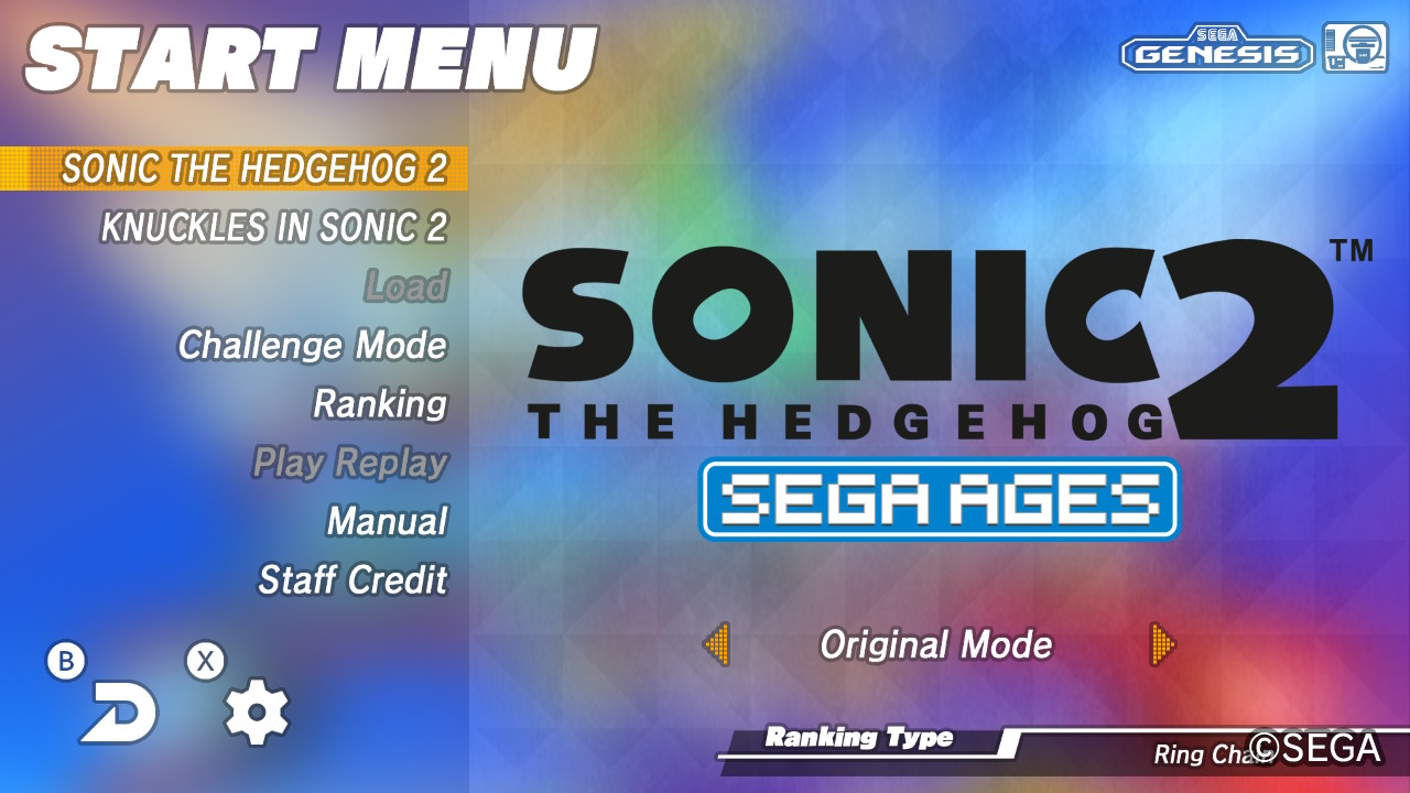 Sega Ages Sonic The Hedgehog 2 Review Adding To An Already Great Game