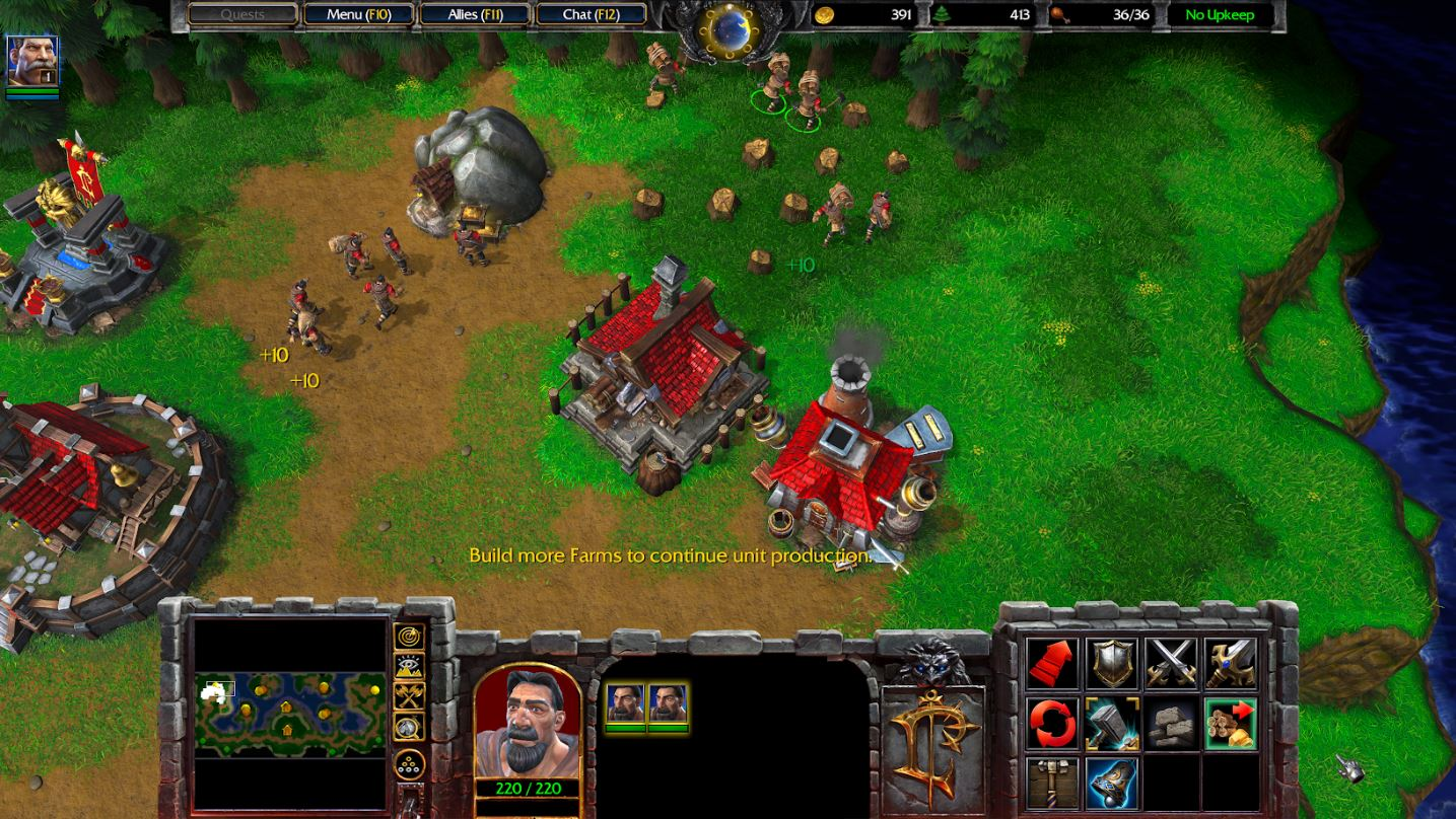 Warcraft 3 Reforged Review It Needs More Time At The Smithy
