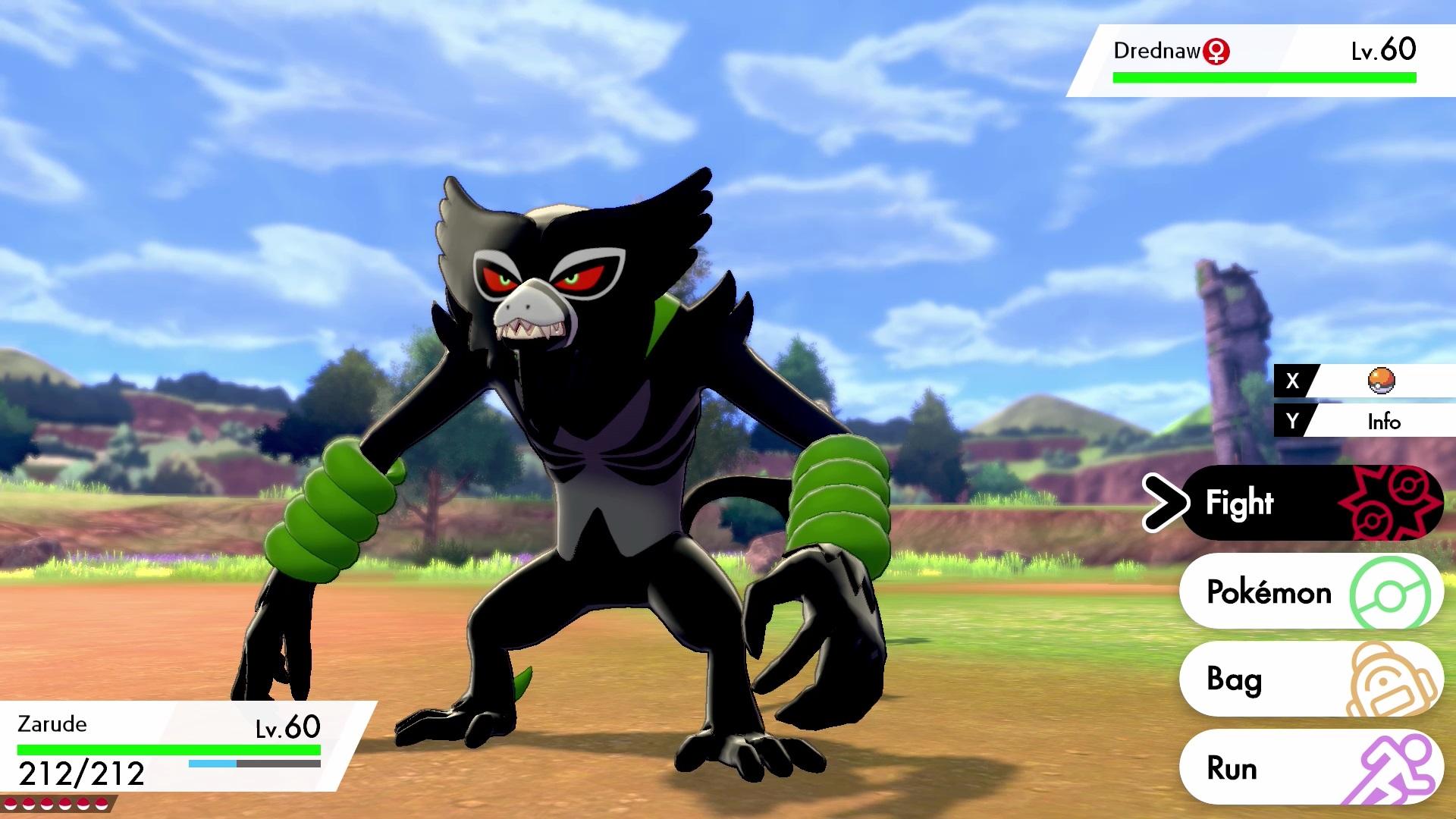 Pokémon Sword and Pokémon Shield introduce Zarude, the Mythical Rogue Monkey Pokémon