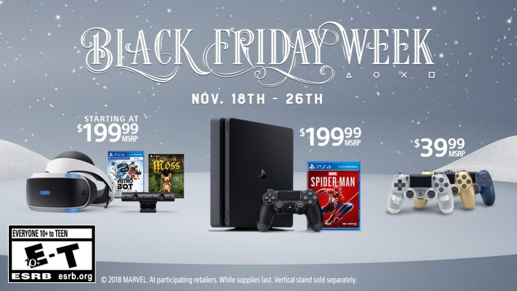 Sony Teases Playstation Black Friday 2018 Discounts