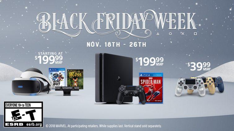 Sony Teases Playstation Black Friday 2018 Discounts