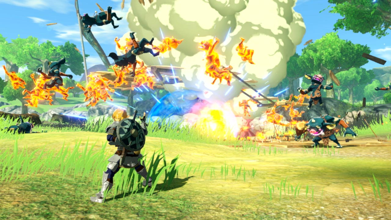 Hyrule Warriors Age Of Calamity Review A Great Hack And Slash Story