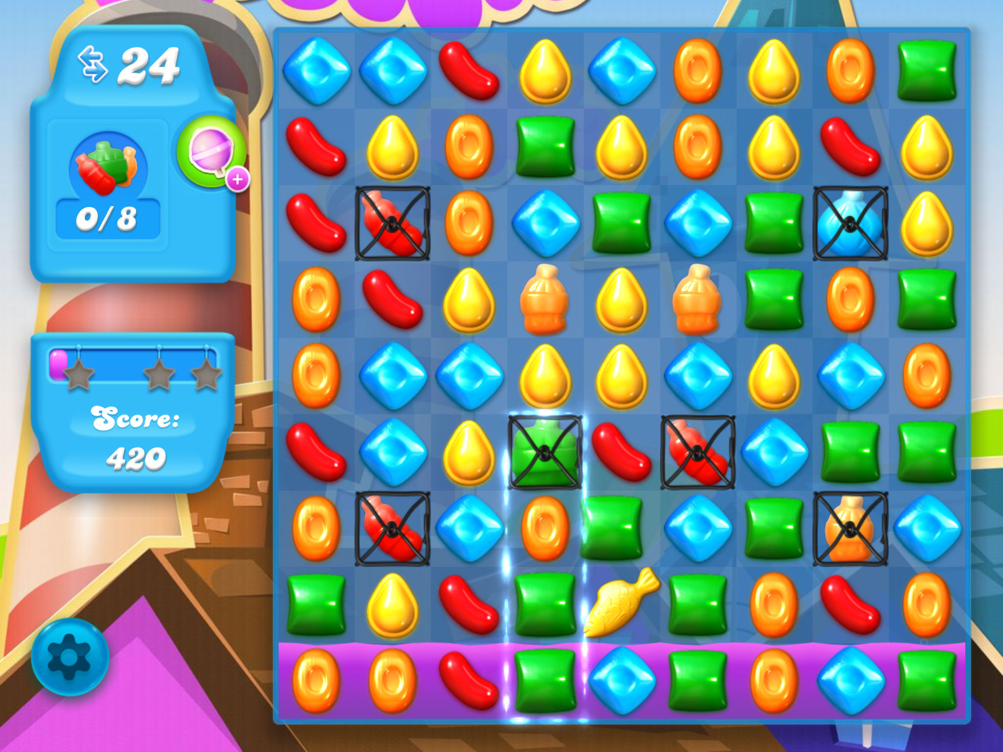 Candy crush soda saga tips hints and strategies page 2 for Candy crush fish