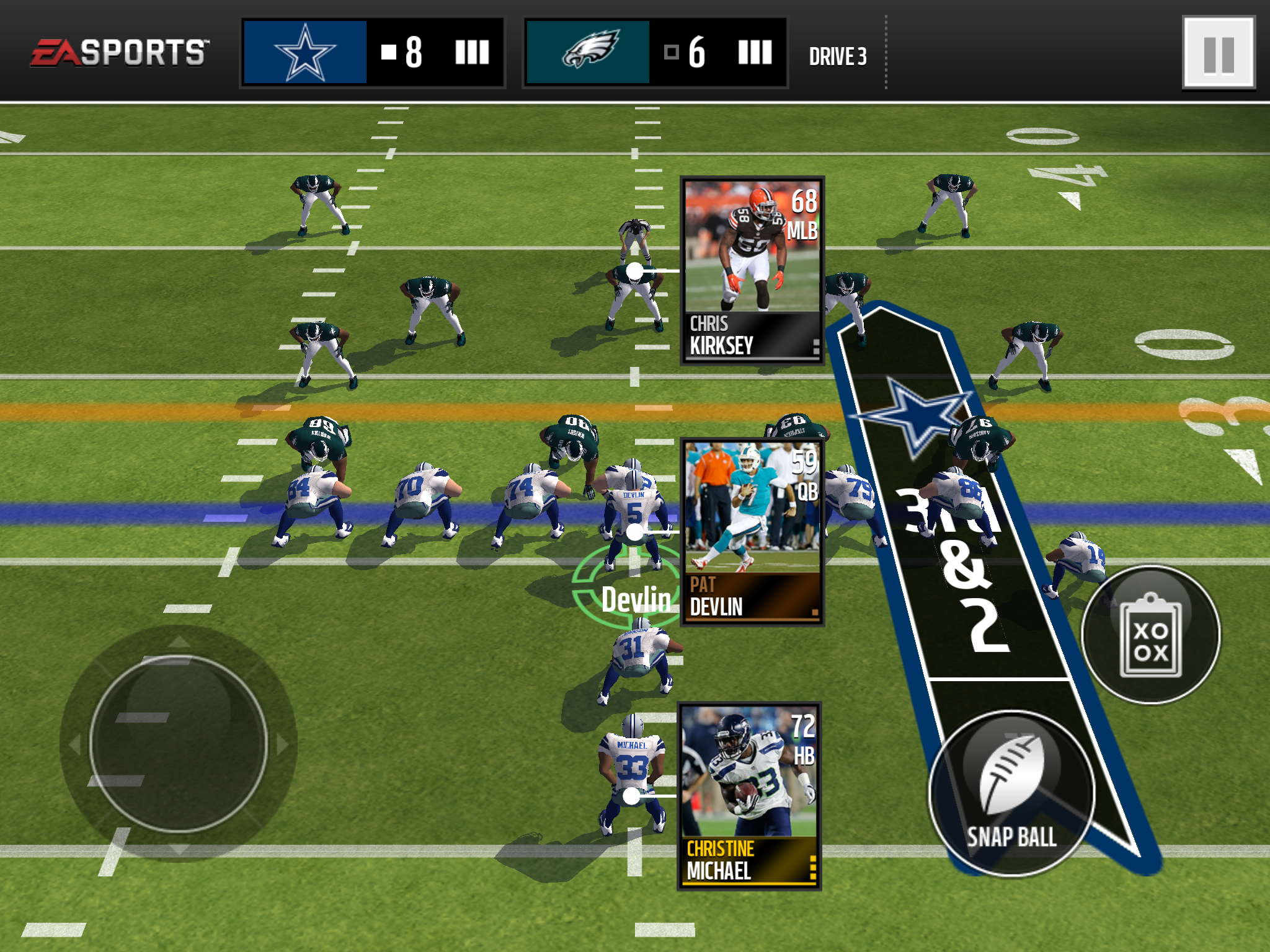 New season kicks off in madden nfl mobile what 39 s new for Laden mobel