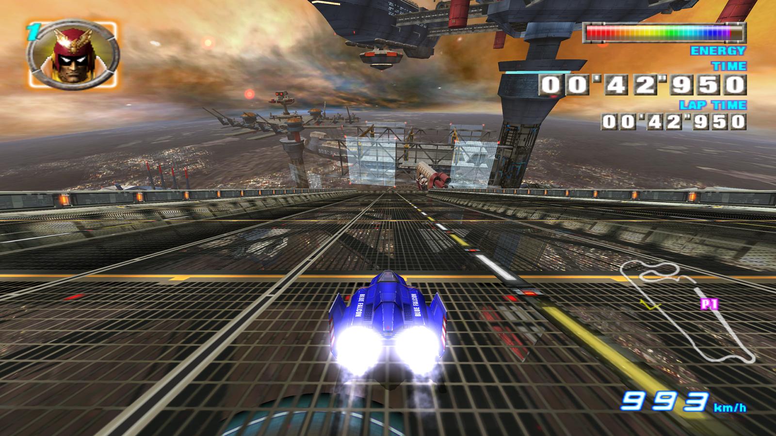 Racing Game Anti Gravity Cars