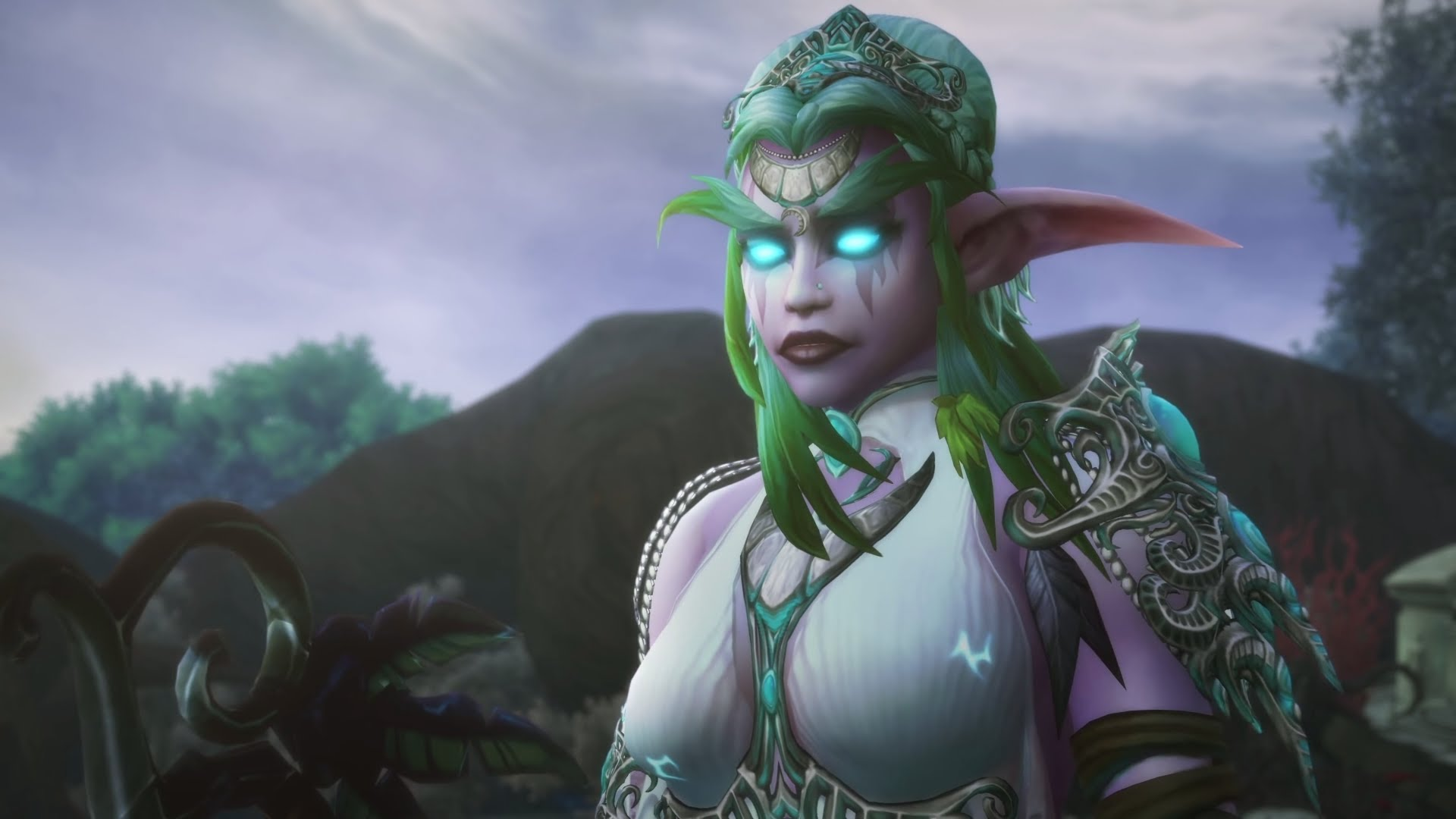 Hillary Clinton Is Tyrande Whisperwind From World Of Warcraft