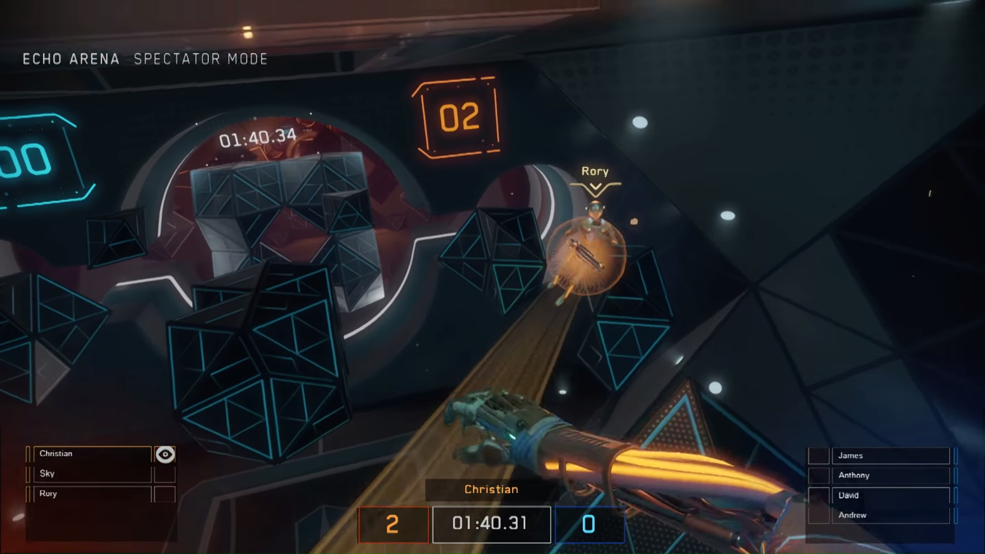 E3 2017: Echo Arena is a free commitment to VR eSports legitimacy