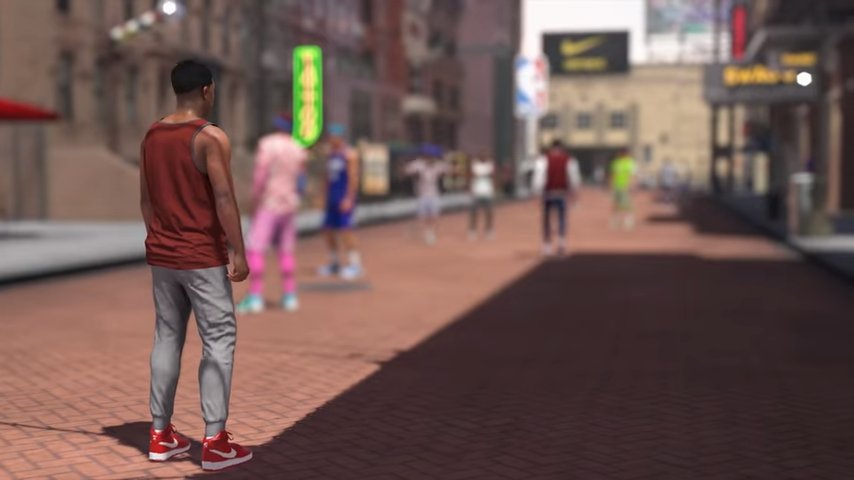 National Basketball Association 2K18 reveals shared world The Neighborhood