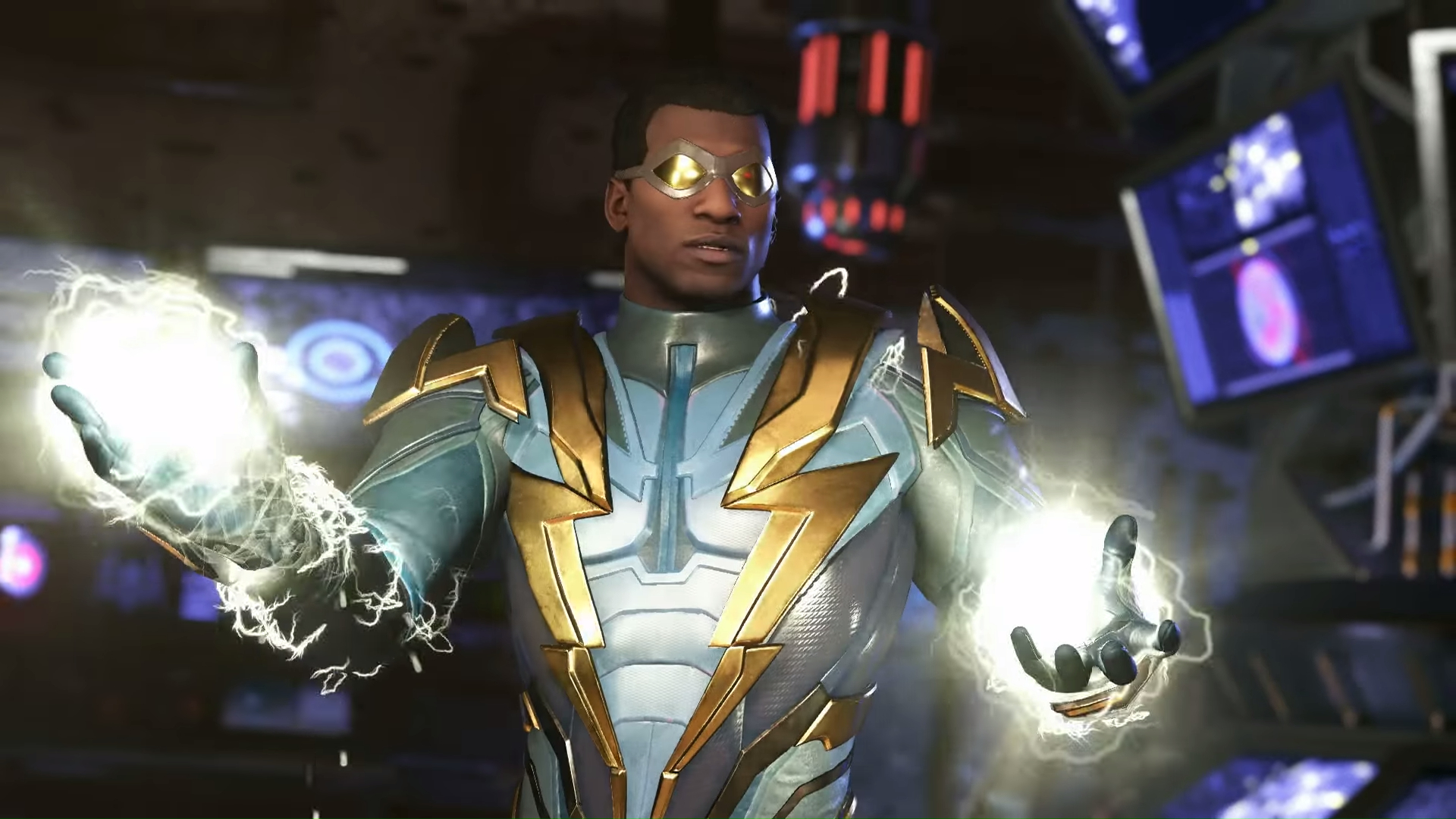 Black Lightning Strikes in New Injustice 2 Gameplay Video