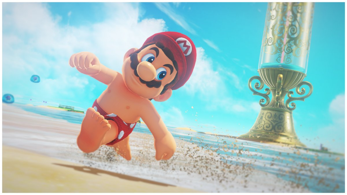 Super Mario Odyssey file size revealed for Switch