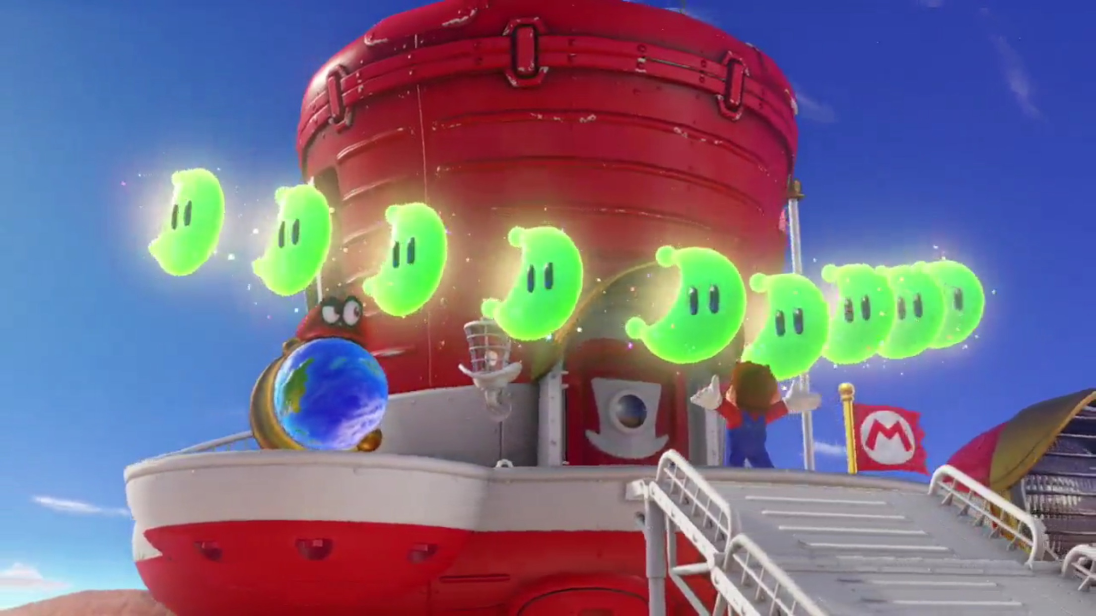 Super Mario Odyssey New Donk City Gif