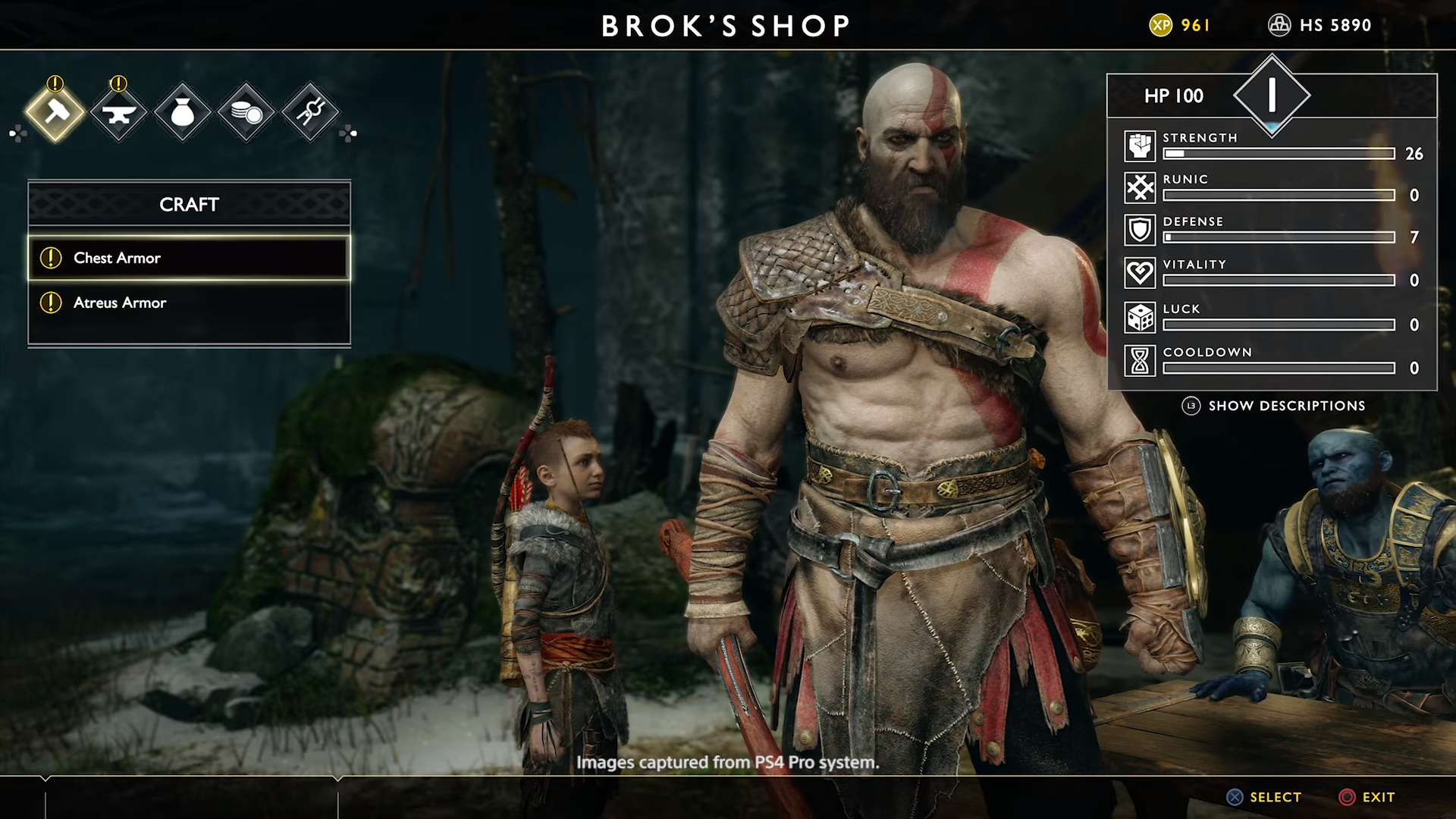 God of War adds option to get rid of that pesky HUD