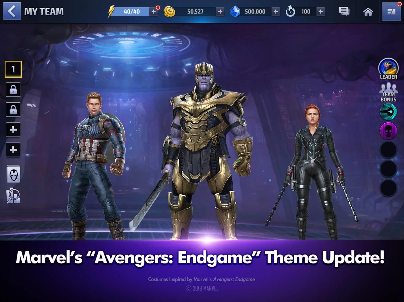 3b1225719 Avengers: Endgame content updates arrive across Marvel mobile games